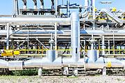 Sannazzaro De Burgondi, Pavia, Italy, ENI petrol and gas refinery,