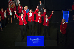 The 2017 SkillsUSA National Leadership and Skills Conference Competition Medalists were announced Friday, June 23, 2017 at Freedom Hall in Louisville. <br /> <br /> Broadcast News Production<br /> <br /> 	Team P (consisting of Vanessa Johnson, Gloria Ortiz, Laura Nunez, Jacob Wells)<br />   High School	 Southwest High School<br />   Gold	 Fort Worth, TX<br /> Broadcast News Production	Team M (consisting of Adam Thomas, Colin Myers, Conner Cotner, Parker Hutchins-Cates)<br />   High School	 Tulsa Technology Center-Riverside<br />   Silver	 Tulsa, OK<br /> Broadcast News Production	Team C (consisting of Chase Albright, Hannah Wolk, Sydney Gross, Ryan Bradley)<br />   High School	 Sussex Tech High School<br />   Bronze	 Georgetown, DE<br /> Broadcast News Production	Team B (consisting of Savanah Byrne, Anthony Frazier, William Schwalk, Nhaid Serna)<br />   College	 Tulsa Technology Center-Riverside<br />   Gold	 Tulsa, OK<br /> Broadcast News Production	Team A (consisting of Kim Gonzalez, Robert Robinson, James Whitehead, Chimere Moody)<br />   College	 Forsyth Tech Community College<br />   Silver	 Winston-Salem, NC