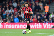 Nathan Ake (5) of AFC Bournemouth on the attack during the Premier League match between Bournemouth and Norwich City at the Vitality Stadium, Bournemouth, England on 19 October 2019.