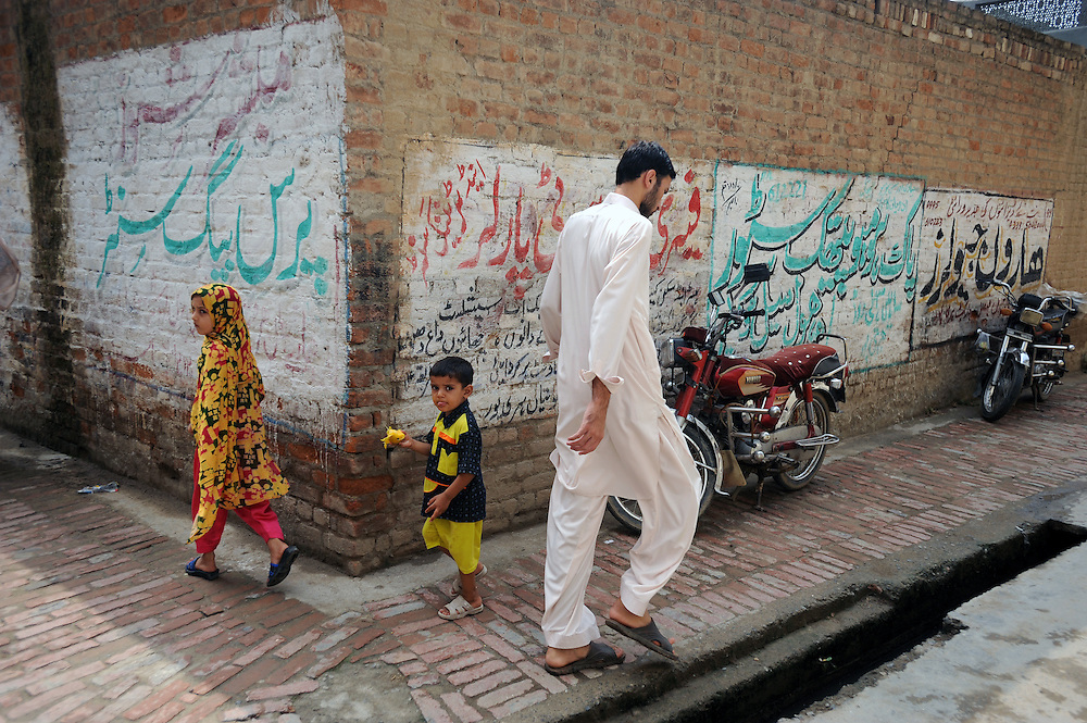 11/8/2009 Street scenes in Haripur, Pakistan, where thousands of displaced families from the Swat valley are sheltering until it is safe to return home. Fighting between the Taliban and Government forces began in April 2009 and an estimated 2.2 milion people have been forced to flee their homes.