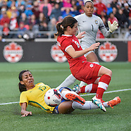 Canada Women's National Team vs Brazil_June 07, 2016