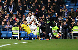 March 1, 2017 - Madrid, Spain - Alvaro Morata. La Liga Santander matchday 25 game between Real Madrid and Las Palmas ended with a 3-3 score. Santiago Bernabeu Stadium, Madrid, Spain. March 01, 2017. (Credit Image: © Antonio Pozo/VW Pics via ZUMA Wire/ZUMAPRESS.com)