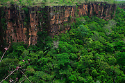 Chapada dos Guimaraes_MT, Brasil...Imagens do Parque Nacional da Chapada dos Guimaraes no Estado do Mato Grosso. Na foto Vale do Rio Coxipozinho...The Chapada dos Guimaraes National Park  is a national park in the Brazilian state of Mato Grosso. In this photo Vale do Rio Coxipozinho...Foto: JOAO MARCOS ROSA  /NITRO..