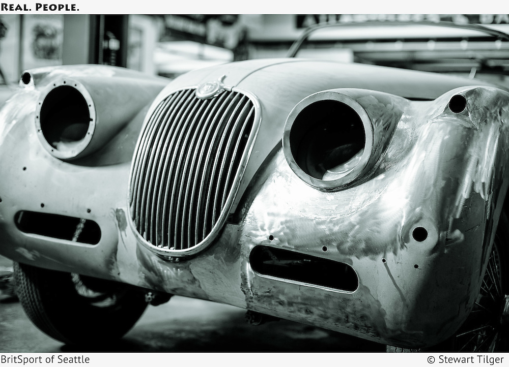 Metalwork Jaguar XK150 Drop Head Coupe