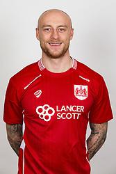 David Cotterill of Bristol City - Rogan Thomson/JMP - 02/02/2017 - FOOTBALL - Failand Training Ground - Bristol, England - Bristol City Headshots 2016/17.