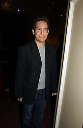TOM HOLLANDER at the Grand Classics screening of Manhattan hosted by Giles Deacon at the Electric Cinema, Portobello Road, London W11 on 13th November 2006.<br />