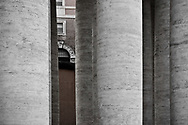 There are 284 columns in the colonnade that define St Peter's Square.