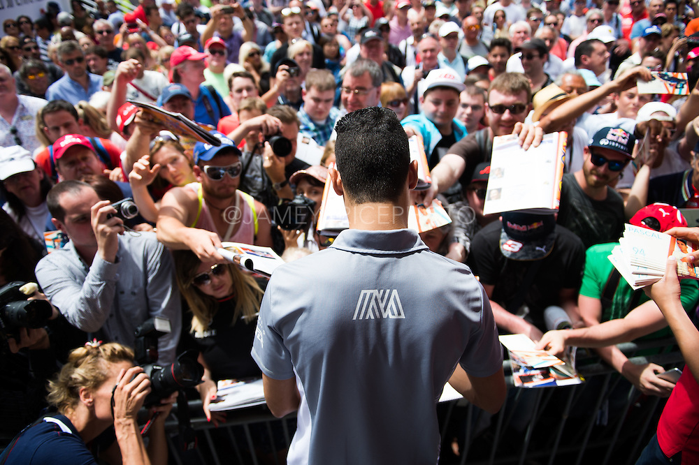 May 25-29, 2016: Monaco Grand Prix. Pascal Wehrlein (GER), Manor