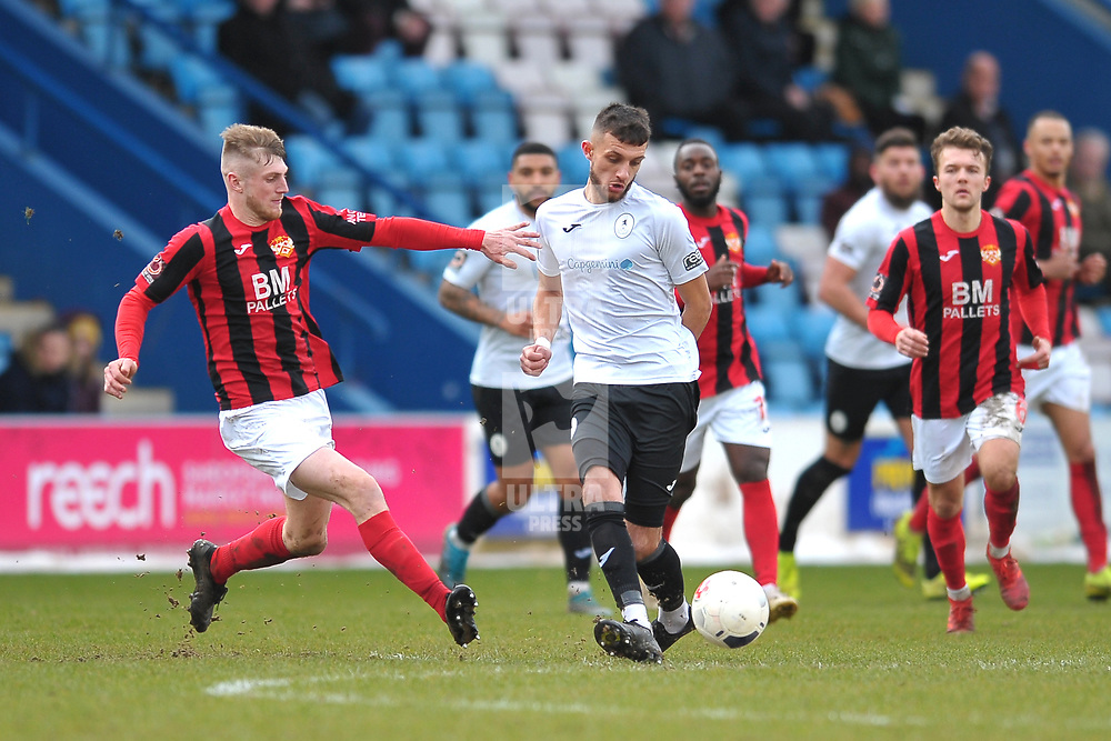 TELFORD COPYRIGHT MIKE SHERIDAN New signing Jack Storer of Telford during the Vanarama Conference North fixture between AFC Telford United and Kettering at The New Bucks Head on Saturday, March 14, 2020.<br /> <br /> Picture credit: Mike Sheridan/Ultrapress<br /> <br /> MS201920-050