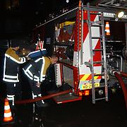 Brandweeroefening bejaardentehuis de Bolder Huizen, verwissellen zuurstof