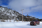 No, I'm not attempting to do an advertisement for Ram Trucks, here. I had walked ahead some distance, down this remote, seasonal road that runs parallel to the Cliff Range. Looking back, I was struck by the beauty, and the desolation of this place. To be honest, though, given that it was about 10 degrees, and that I was a two hour walk from anything at all, I was grateful that the truck was reliable on the trip.