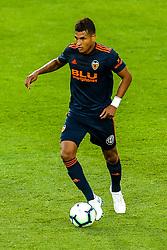 Cristiano Piccini of Valencia - Mandatory by-line: Robbie Stephenson/JMP - 01/08/2018 - FOOTBALL - King Power Stadium - Leicester, England - Leicester City v Valencia - Pre-season friendly
