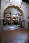 SPAIN: Andalucia..The exquisitely ornate Moorish Mosque-Cathedral of Cordoba.