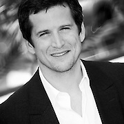 """Black & White Portrait """"Guillaume Canet"""" during the 66th Annual Cannes Film Festival"""