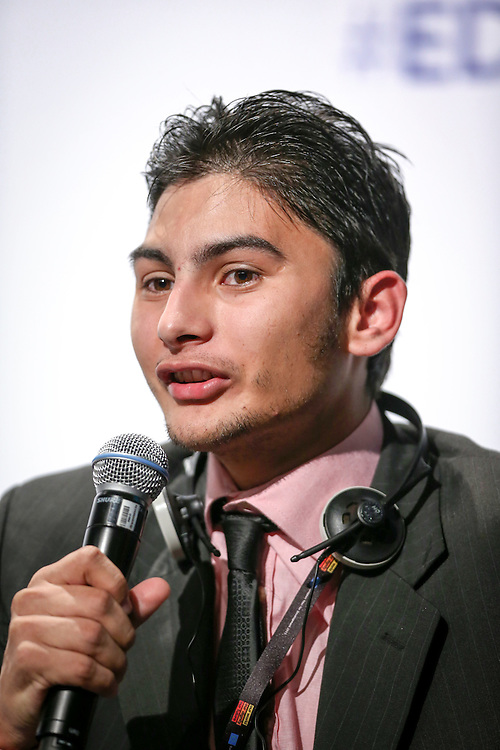 04 June 2015 - Belgium - Brussels - European Development Days - EDD - Citizenship - How can development cooperation effectively fight corruption and promote good governance? - Edgleison Rodrigues , Future Leader © European Union