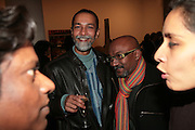 Jyothi Basu and bose Krishnamachari, Other,Riyas Komu and Peter Drake. - VIP  launch of Aicon. London's largest contemporary Indian art gallery. Heddon st. and afterwards at Momo.15 Marc h 2007.  -DO NOT ARCHIVE-© Copyright Photograph by Dafydd Jones. 248 Clapham Rd. London SW9 0PZ. Tel 0207 820 0771. www.dafjones.com.