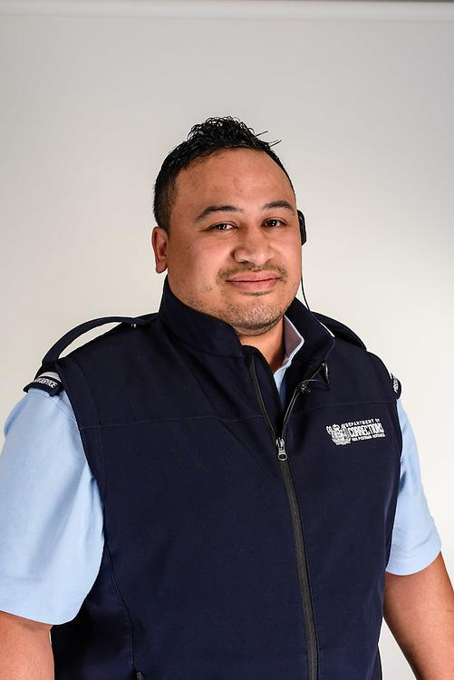 WELLINGTON, NEW ZEALAND - November 16: Corrections NZ: Frontline Features November 16, 2015 in Wellington, New Zealand. (Photo by Mark Tantrum/ http://mark tantrum.com)