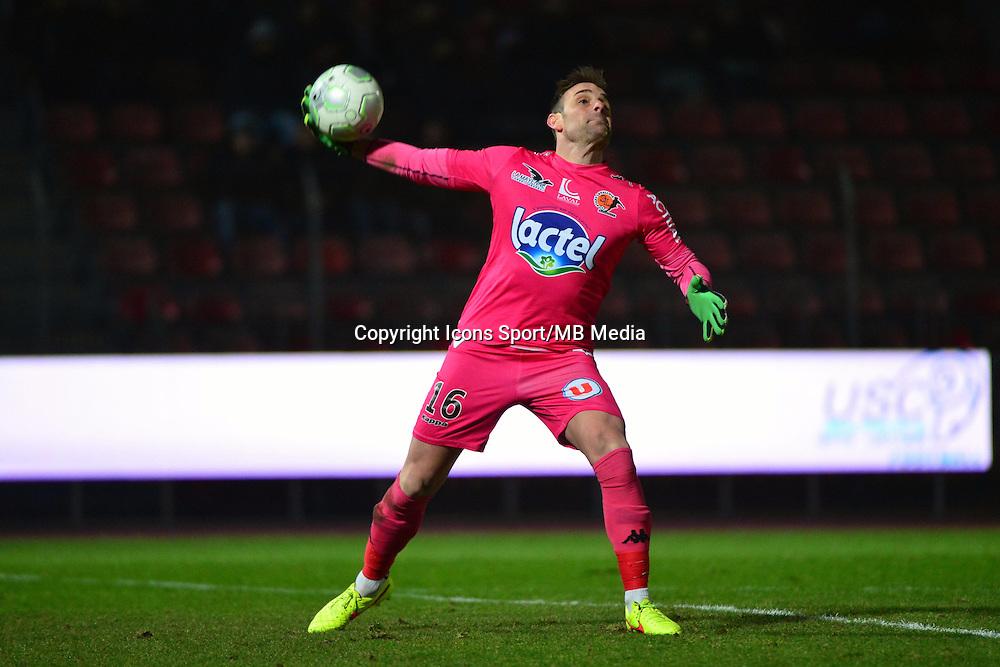 Lionel CAPPONE - 23.01.2015 - Creteil / Laval - 21eme journee de Ligue 2<br /> Photo : Dave Winter / Icon Sport