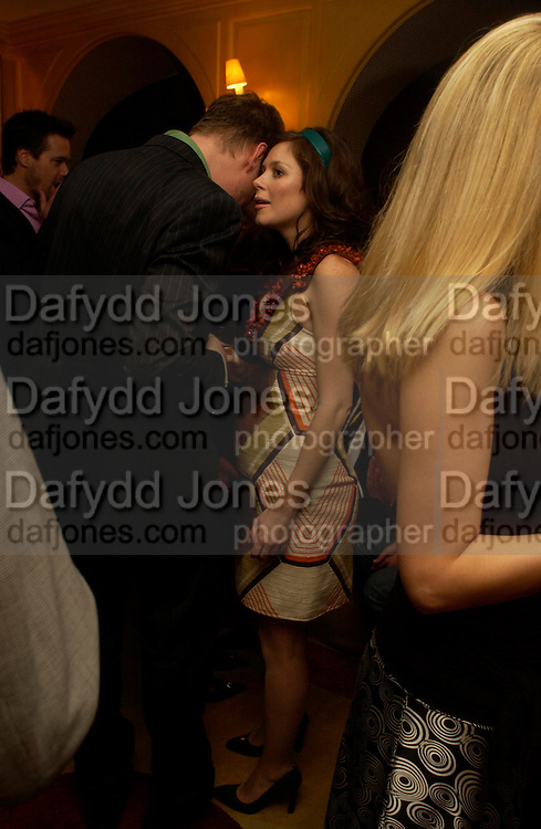 David Thewlis and Anna Friel. Artists Independent Networks  Pre-BAFTA Party at Annabel's co hosted by Charles Finch and Chanel. Berkeley Sq. London. 11 February 2005. . ONE TIME USE ONLY - DO NOT ARCHIVE  © Copyright Photograph by Dafydd Jones 66 Stockwell Park Rd. London SW9 0DA Tel 020 7733 0108 www.dafjones.com