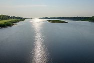 Peconic River and Flanders Bay, Riverhead, Flanders,  Long Island, New York