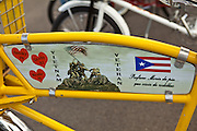 Antique Bicycle detail in Puerto Rico
