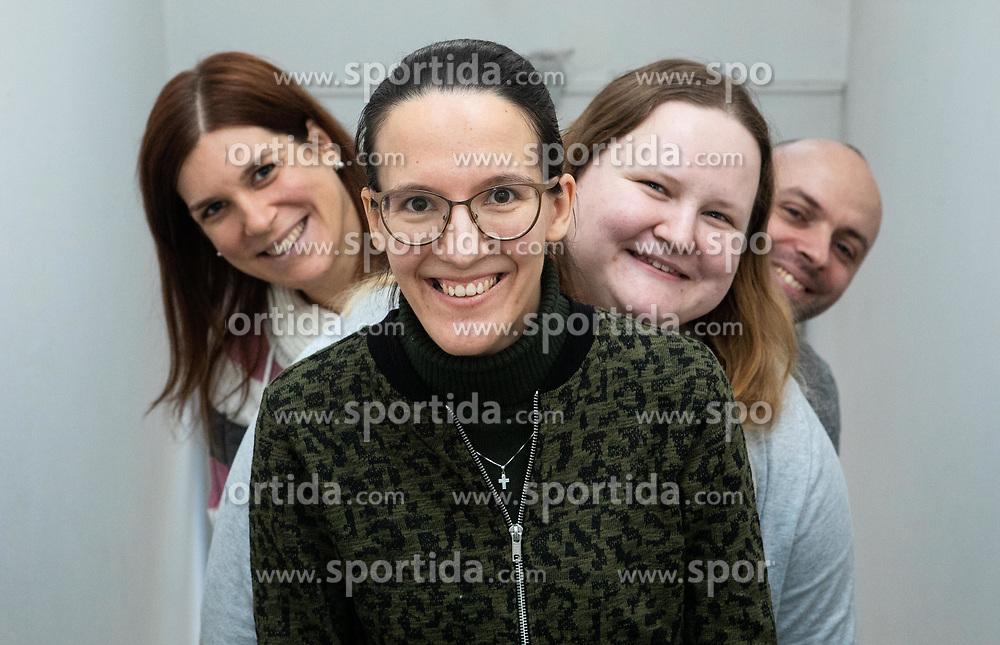 Team Aleteia.si, on January 6, 2020 in Ljubljana, Slovenia. Photo by Vid Ponikvar/ Sportida