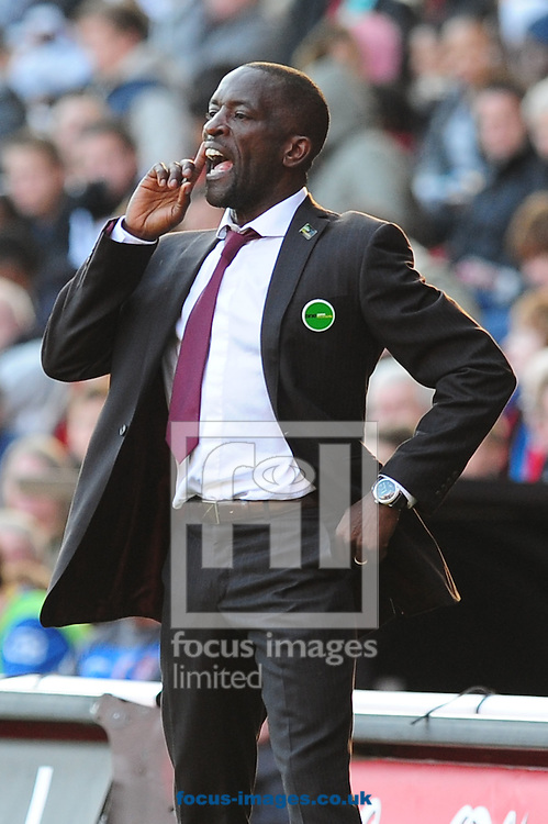 Picture by Alex Broadway/Focus Images Ltd.  07905 628187.22/10/11.Chris Powell, manager of Charlton during the Npower League One match at The Valley stadium, London.