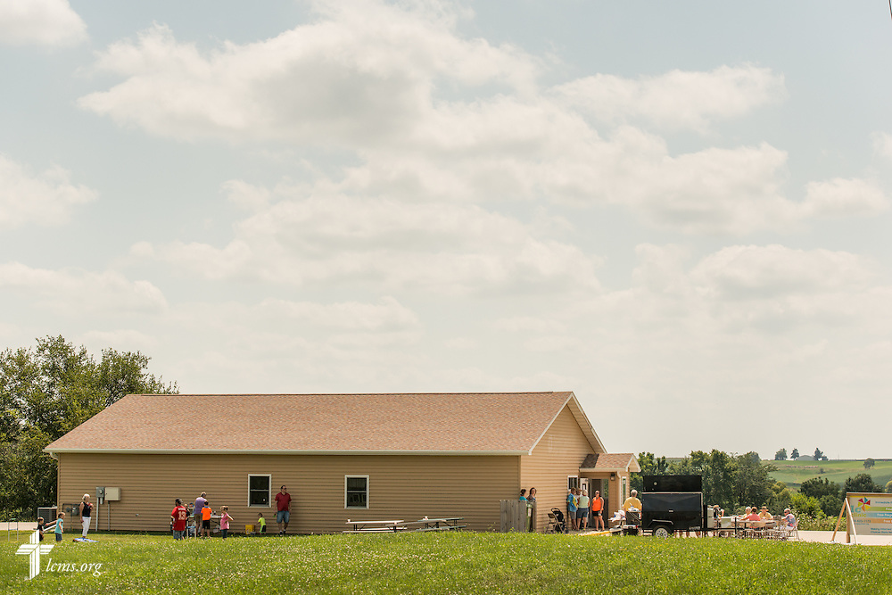 Exterior photograph of the Iowa Life Care (LC) Clinic on Saturday, Aug. 15, 2015, in Creston, Iowa. The clinic is a former Planned Parenthood facility. LCMS Communications/Erik M. Lunsford