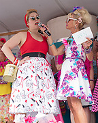 Krystal Stello, of Locas Point, competes in Baltimore's Best Hon contest at Honfest 2018 in on Saturday, June 9, 2018 in Baltimore, MD.