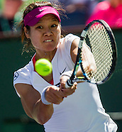 Tennis: BNP Paribas Open 2014 Na Li vs Jie Zheng