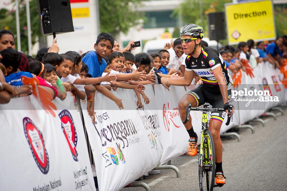 2014 Le Tour de Langkawi / stage6 / langkawi / kids / QUINTERO Duber (COL) / COLOMBIA