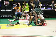 Sanders Rakim<br /> EA7 Emporio Armani Milano - Cantine Due Palme Brindisi<br /> Poste Mobile Final Eight F8 2017 <br /> Lega Basket 2016/2017<br /> Rimini, 16/02/2017<br /> Foto Ciamillo-Castoria / M. Brondi