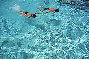 Snorkeling couple<br />