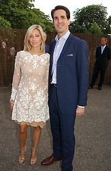 CROWN PRINCE PAVLOS and PRINCESS MARIE CHANTAL OF GREECE at the Serpentine Gallery Summer party sponsored by Yves Saint Laurent held at the Serpentine Gallery, Kensington Gardens, London W2 on 11th July 2006.<br />