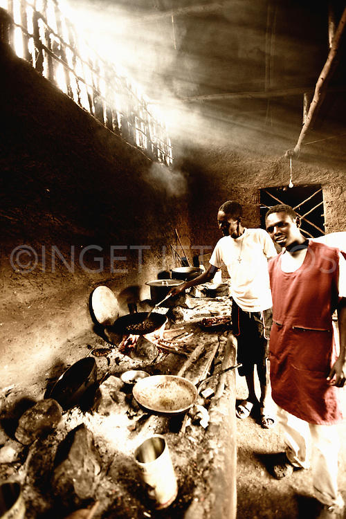 The 'only' restaurant in Salamago district, close to the Bodi tribe.