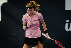 December 30, 2018 - Brisbane, AUSTRALIA - Marie Bouzkova of the Czech Republic in action during qualifications at the 2019 Brisbane International WTA Premier tennis tournament (Credit Image: © AFP7 via ZUMA Wire)