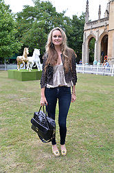 BRYONY DANIELS at the launch of Chelsea Thoroughbreds held at St.Luke's Church, Sydney Street, London on 2nd July 2014.