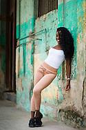 Milaila Capote of BanRara dance company in Havana