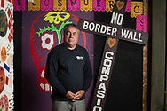 Founder & Director from Broder Angels Enrique Morones was the First person to gain dual nationality for both Mexico and the United States of America.  San Diego. California. Foto Mauricio Bustamante. 6.10.17