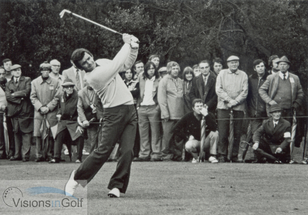 Tony Jacklin, 1972<br /> <br /> Picture Credit: &copy;Visions In Golf