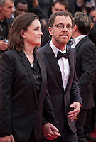 Tricia Cooke and director Ethan Coen at the gala screening for the film Macbeth at the 68th Cannes Film Festival, Saturday 23rd May 2015, Cannes, France.