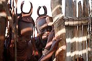 Traditional Himba women, Purros, Kaokoland. Northern Namibia.