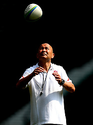 England head coach Eddie Jones leads training at Twickenham ahead of the upcoming tour of Argentina - Mandatory by-line: Robbie Stephenson/JMP - 02/06/2017 - RUGBY - Twickenham - London, England - England Rugby Training