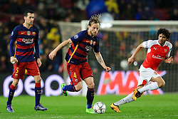 Ivan Rakitic of Barcelona attacks - Mandatory byline: Matt McNulty/JMP - 16/03/2016 - FOOTBALL - Nou Camp - Barcelona,  - FC Barcelona v Arsenal - Champions League - Round of 16