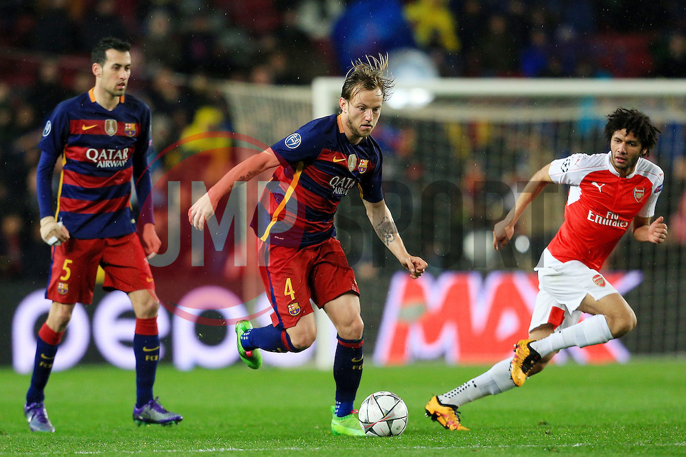 Ivan Rakitic of Barcelona attacks - Mandatory byline: Matt McNulty/JMP - 16/03/2016 - FOOTBALL - Nou Camp - Barcelona,  - FC Barcelona v Arsenal - Champions League - Round of 16
