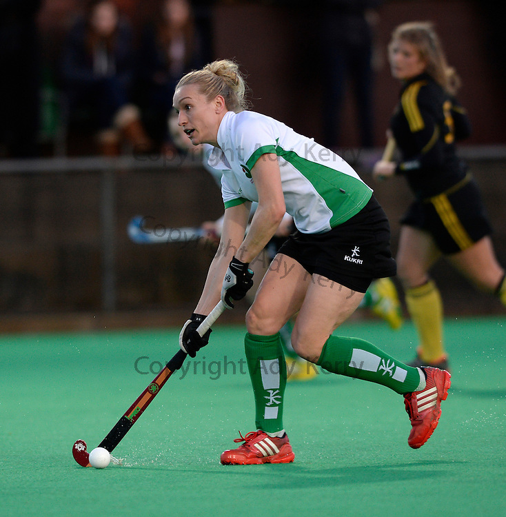 Canterbury's Susie Rowe during their Investec Women's Hockey League Premier Division game at Canterbury HC, 22nd February 2014.