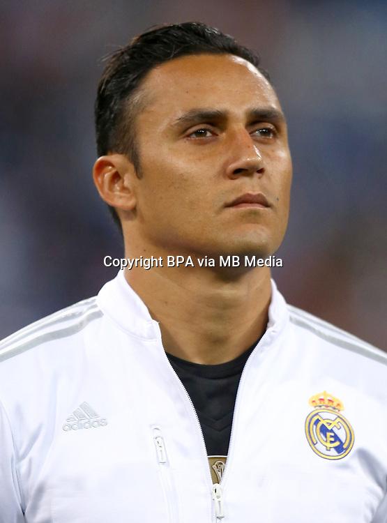 Spain - Liga BBVA 2015-2016 / <br /> ( Real Madrid CF ) - <br /> Keylor Antonio Navas Gamboa &quot; Keylor Navas &quot;