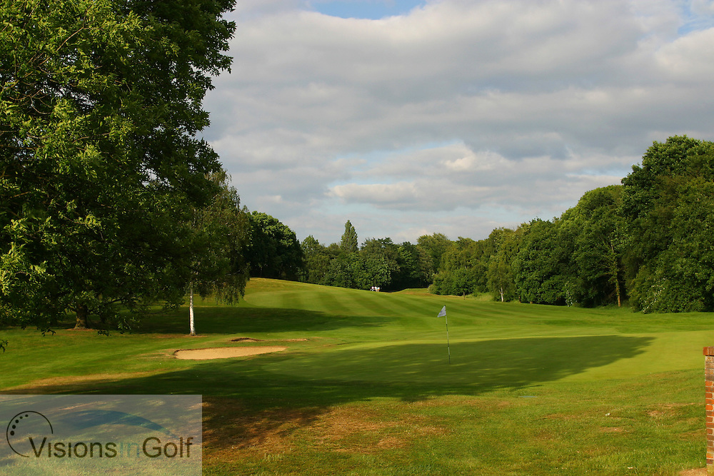Sundridge Park GC, West Course, Bromley, Kent. <br /> <br /> Photo Mark Newcombe / visionsingolf.com