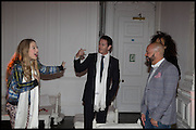 ANAIS GALLAGHER; NICK MORAN,  White By Agadir -  launch party <br /> to promote the Moroccan resort of Agadir , Il Bottaccio, 9 Grosvenor Place, London, 4 November 2014