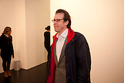CONSTANTIN WINDISCH-GRAETZ, 'Engagement' exhibition of work by Jennifer Rubell. Stephen Friedman Gallery. London. 7 February 2011. -DO NOT ARCHIVE-© Copyright Photograph by Dafydd Jones. 248 Clapham Rd. London SW9 0PZ. Tel 0207 820 0771. www.dafjones.com.
